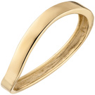 Damen Ring 375 Gold Gelbgold Goldring