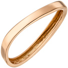 Damen Ring 375 Gold Rotgold Rotgoldring